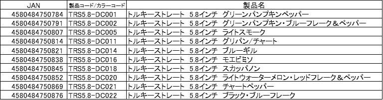 トルキーストレート5.8インチ [TORQUEE STRAIGHT 5.8inch]詳細
