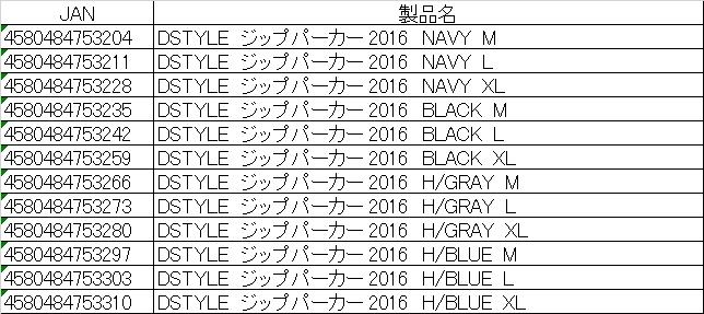 DSTYLE ジップパーカー ver,002詳細