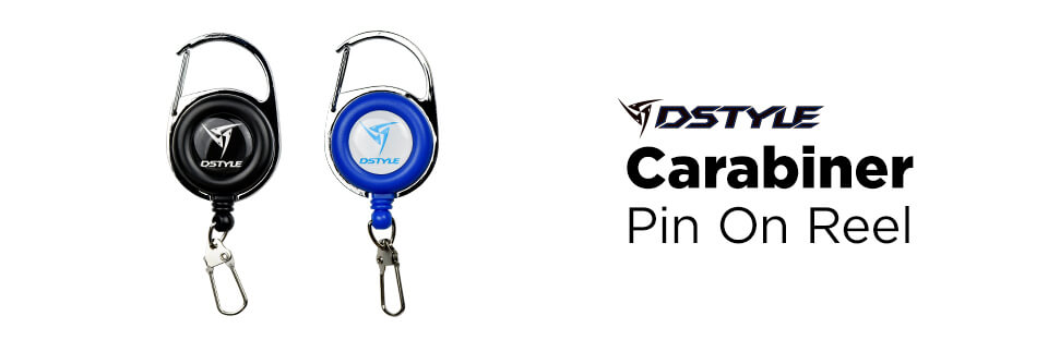 DSTYLE Carabiner Pin On Reel