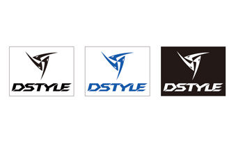 DSTYLE Cutting Logo Sticker Type2