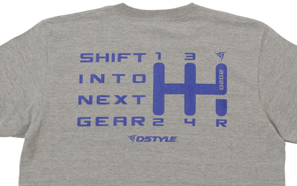 DSTYLE 2020 Shift Pattern T-Shirts【WEBSHOPにて先行発売中】詳細