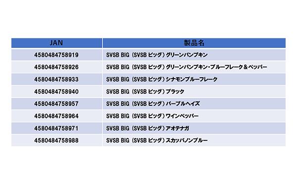 SVSB BIG (スーパーバイブシンキングバグ ビッグ)[4月発売予定]詳細