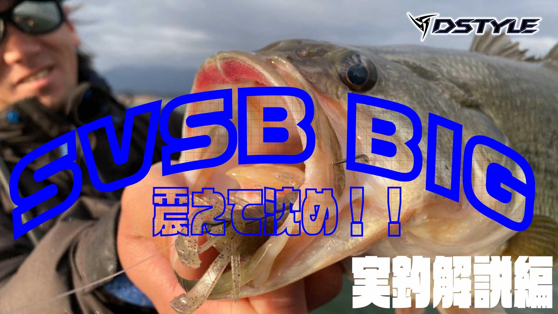 【公式】震えて沈む巨大な虫!!/ SVSB BIG 実釣解説